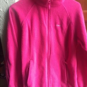 Pink Columbia fleece jacket